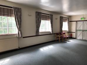 Larger side room